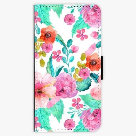 iSaprio Flipové pouzdro - Flower Pattern 01 - Huawei P9