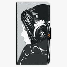 iSaprio Flipové pouzdro - Headphones - Huawei Nova