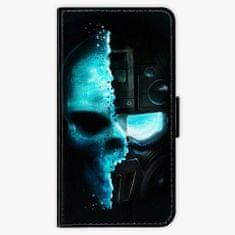 iSaprio Flipové pouzdro - Roboskull - Huawei Nova