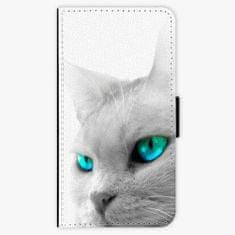 iSaprio Flipové pouzdro - Cats Eyes - iPhone X