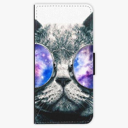 iSaprio Flipové pouzdro - Galaxy Cat - Samsung Galaxy S8 Plus