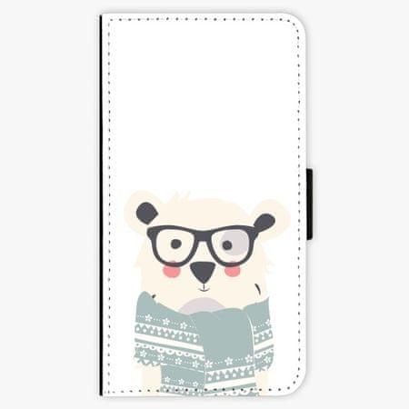 iSaprio Flipové pouzdro - Bear with Scarf - Samsung Galaxy A5 2016