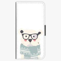 iSaprio Flipové pouzdro - Bear with Scarf - LG G6 (H870)