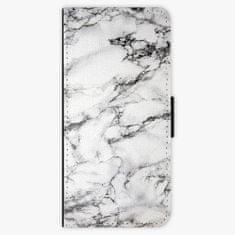 iSaprio Flipové pouzdro - White Marble 01 - Samsung Galaxy S8 Plus