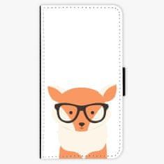 iSaprio Flipové pouzdro - Orange Fox - Huawei Nova