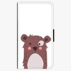 iSaprio Flipové pouzdro - Brown Bear - Huawei P10 Plus
