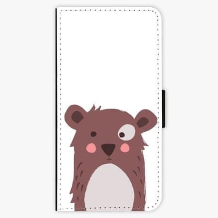iSaprio Flipové pouzdro - Brown Bear - iPhone 7 Plus
