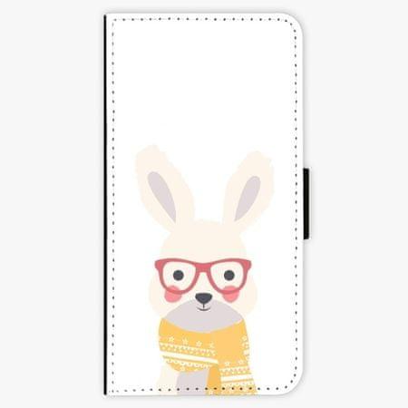 iSaprio Flipové pouzdro - Smart Rabbit - iPhone 7 Plus
