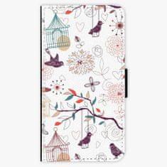 iSaprio Flipové pouzdro - Birds - iPhone X