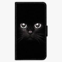 iSaprio Flipové pouzdro - Black Cat - Samsung Galaxy A3