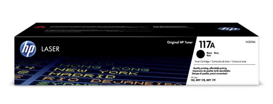HP 117A, čierny (W2070A)