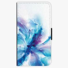 iSaprio Flipové pouzdro - Abstract Flower - iPhone X