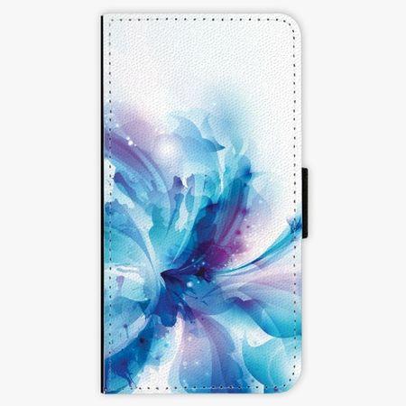 iSaprio Flipové pouzdro - Abstract Flower - Huawei P9