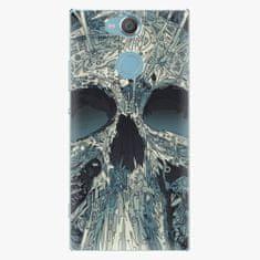 iSaprio Plastový kryt - Abstract Skull - Sony Xperia XA2