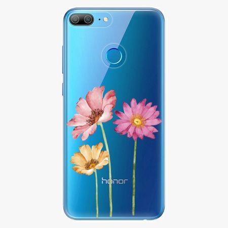 iSaprio Plastový kryt - Three Flowers - Huawei Honor 9 Lite