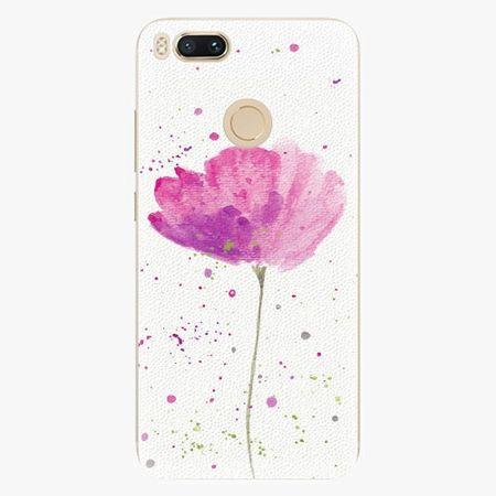 iSaprio Silikonové pouzdro - Poppies - Xiaomi Mi A1