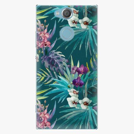 iSaprio Plastový kryt - Tropical Blue 01 - Sony Xperia XA2
