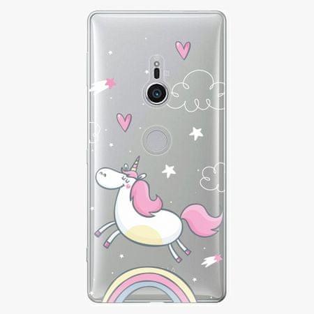 iSaprio Plastový kryt - Unicorn 01 - Sony Xperia XZ2
