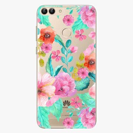 iSaprio Silikonové pouzdro - Flower Pattern 01 - Huawei P Smart
