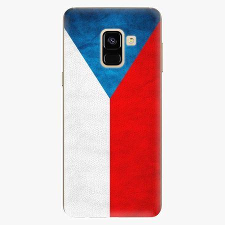 iSaprio Plastový kryt - Czech Flag - Samsung Galaxy A8 2018