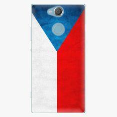 iSaprio Plastový kryt - Czech Flag - Sony Xperia XA2