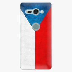 iSaprio Plastový kryt - Czech Flag - Sony Xperia XZ2 Compact