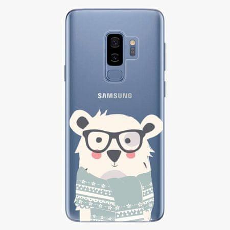 iSaprio Plastový kryt - Bear with Scarf - Samsung Galaxy S9 Plus