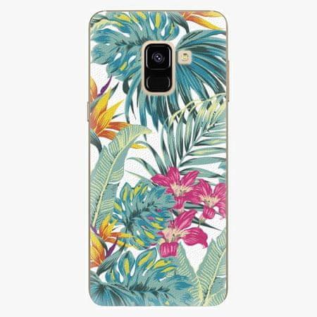 iSaprio Plastový kryt - Tropical White 03 - Samsung Galaxy A8 2018
