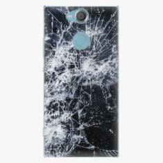 iSaprio Plastový kryt - Cracked - Sony Xperia XA2