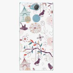 iSaprio Plastový kryt - Birds - Sony Xperia XA2