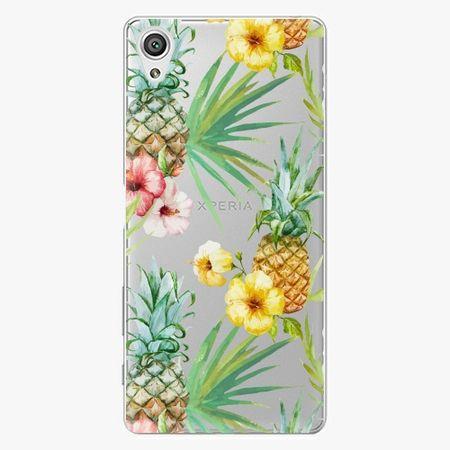 iSaprio Plastový kryt - Pineapple Pattern 02 - Sony Xperia X