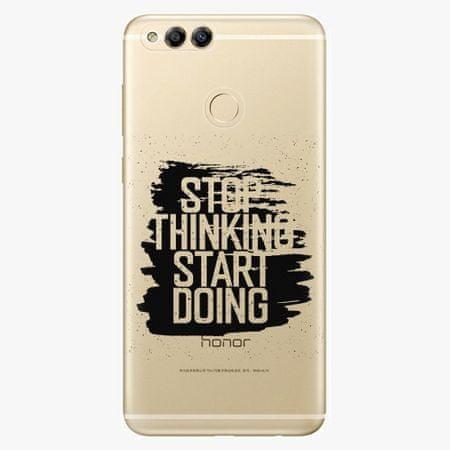 iSaprio Plastový kryt - Start Doing - black - Huawei Honor 7X