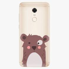 iSaprio Plastový kryt - Brown Bear - Xiaomi Redmi 5 Plus