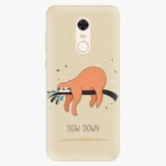 iSaprio Silikonové pouzdro - Slow Down - Xiaomi Redmi 5 Plus