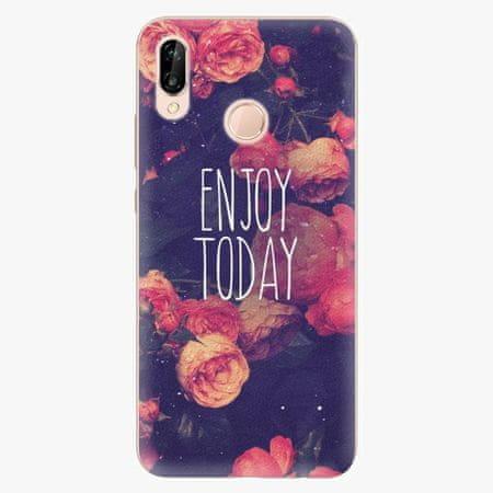 iSaprio Silikonové pouzdro - Enjoy Today - Huawei P20 Lite