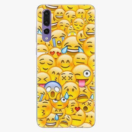 iSaprio Silikonové pouzdro - Emoji - Huawei P20 Pro