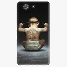 iSaprio Plastový kryt - Crazy Baby - Sony Xperia Z3 Compact