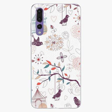 iSaprio Silikonové pouzdro - Birds - Huawei P20 Pro