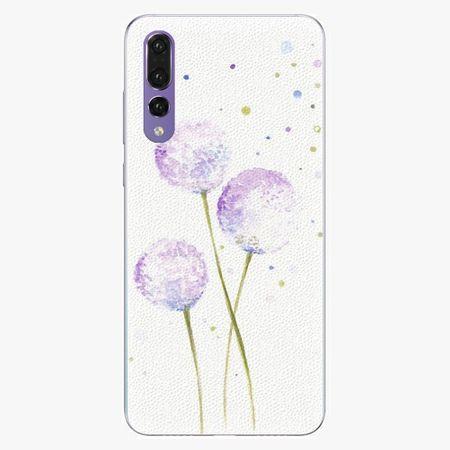 iSaprio Silikonové pouzdro - Dandelion - Huawei P20 Pro