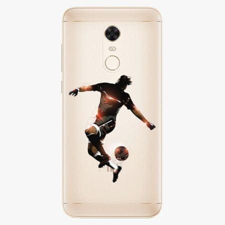 iSaprio Silikonové pouzdro - Fotball 01 - Xiaomi Redmi 5 Plus