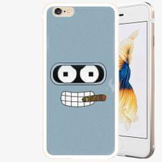 iSaprio Plastový kryt - Bender - iPhone 6/6S - Gold