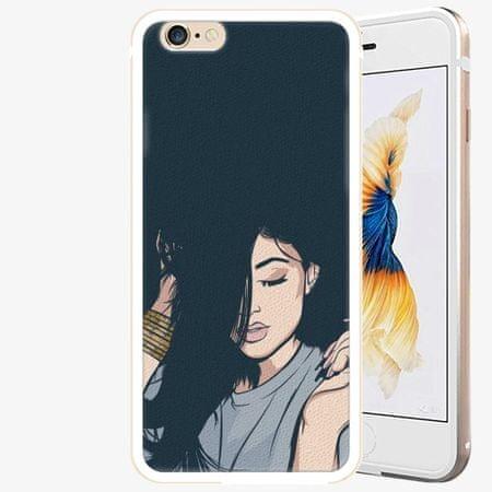 iSaprio Plastový kryt - Swag Girl - iPhone 6 Plus/6S Plus - Gold