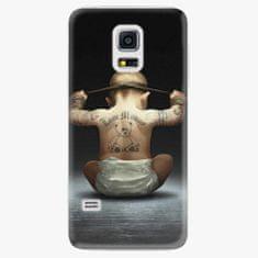 iSaprio Plastový kryt - Crazy Baby - Samsung Galaxy S5 Mini