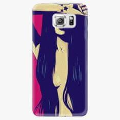 iSaprio Plastový kryt - Cartoon Girl - Samsung Galaxy S6 Edge Plus