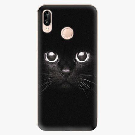 iSaprio Plastový kryt - Black Cat - Huawei P20 Lite