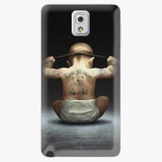 iSaprio Plastový kryt - Crazy Baby - Samsung Galaxy Note 3