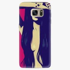 iSaprio Plastový kryt - Cartoon Girl - Samsung Galaxy S7 Edge