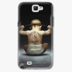 iSaprio Plastový kryt - Crazy Baby - Samsung Galaxy Note 2