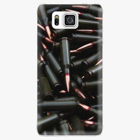 iSaprio Plastový kryt - Black Bullet - Samsung Galaxy Alpha