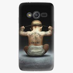 iSaprio Plastový kryt - Crazy Baby - Samsung Galaxy Trend 2 Lite